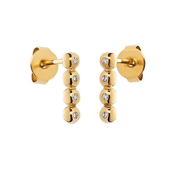 M&M Ohrstecker Modern Glam Gold | Modell  373 von M&M Germany - ME3373-400