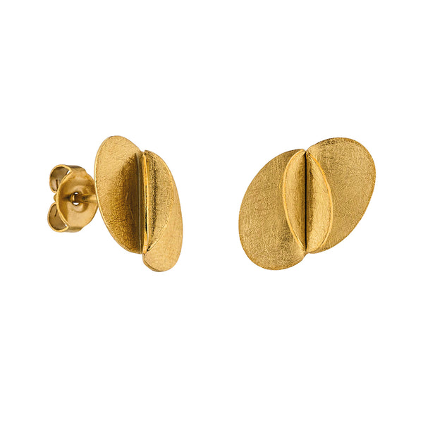 M&M Ohrstecker Pure Volume Gold | Modell  388 von M&M Germany | ME3388-400