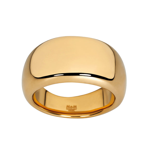 M&M Ring Pure Volume Gold | Modell  139 von M&M Germany - MR3139-452
