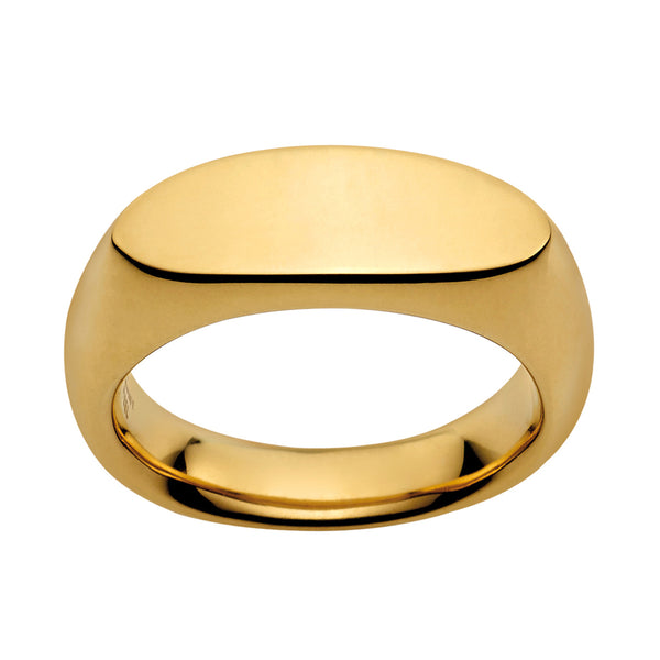 M&M Ring Pure Volume Gold | Modell  158 von M&M Germany - MR3158-452