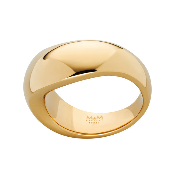 M&M Ring Pure Volume Gold | Modell  212 von M&M Germany - MR3212-452