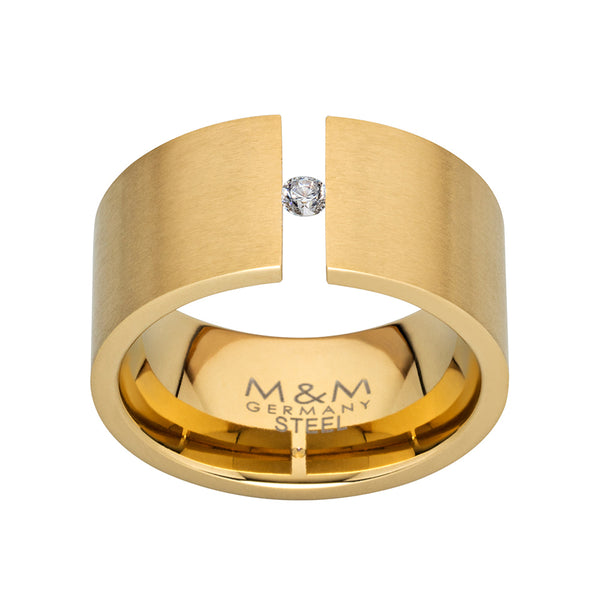 M&M Ring Modern Glam Gold | Modell  246 von M&M Germany - MR3246-452