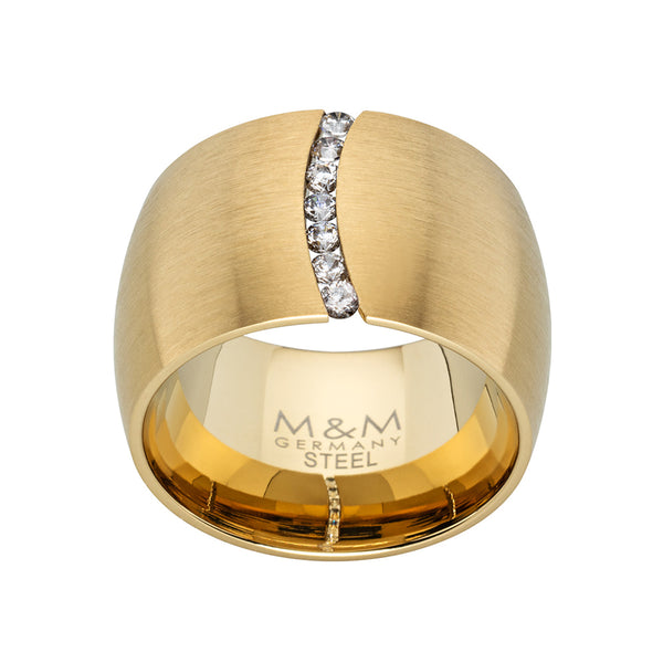 M&M Ring Modern Glam Gold | Modell  248 von M&M Germany - MR3248-452