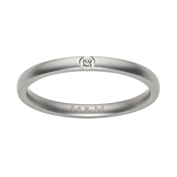 M&M Ring Modern Glam | Modell  257 von M&M Germany - MR3257-152