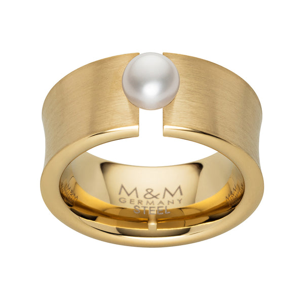 M&M Ring Ocean Collection Gold | Modell  300 von M&M Germany - MR3300-452