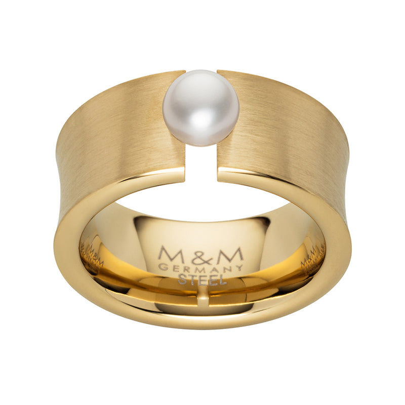 M&M Ring Ocean Collection Gold | Modell  300 von M&M Germany | MR3300-452