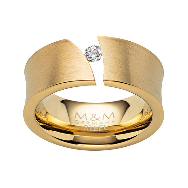 M&M Ring Modern Glam Gold | Modell  317 von M&M Germany - MR3317-452