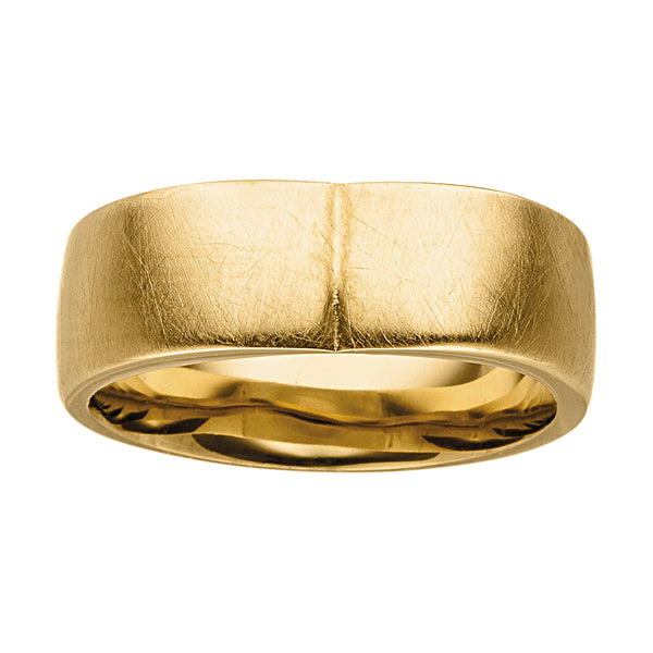 M&M Ring Pure Volume Gold | Modell  424 von M&M Germany - MR3424-452