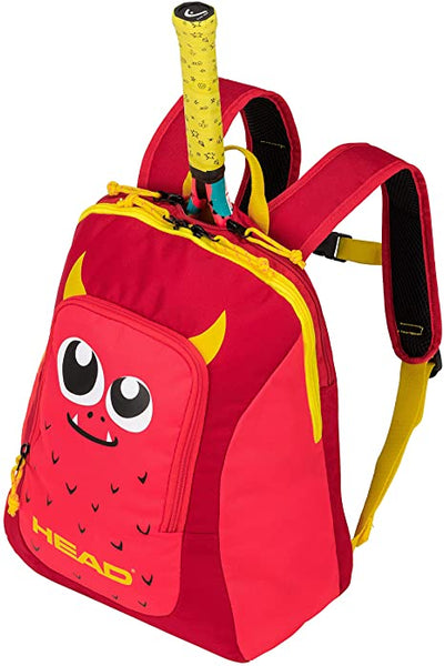 Head Backpack for kids - Red & Yellow
