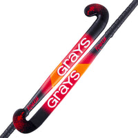 Grays Rogue Ultrabow Hockey Stick - Black & Red