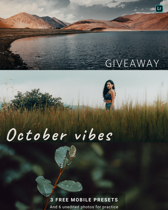 October Vibes - GIVEAWAY - PRO-EXPOSURE