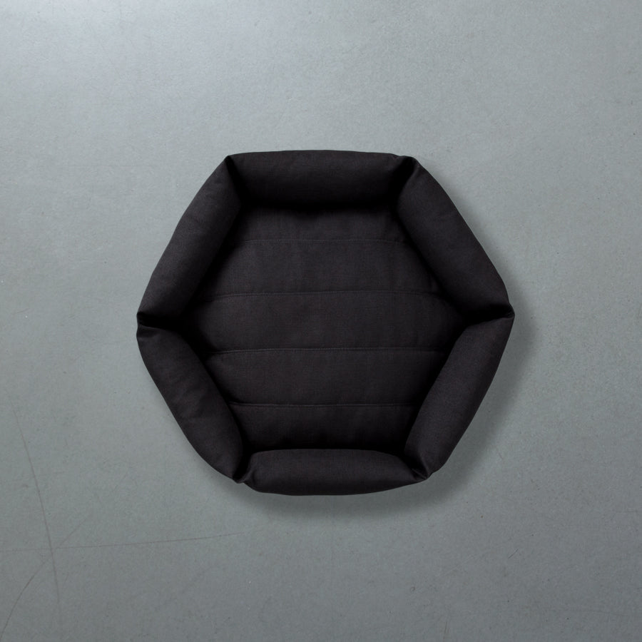 Hex Cushion in Pewter