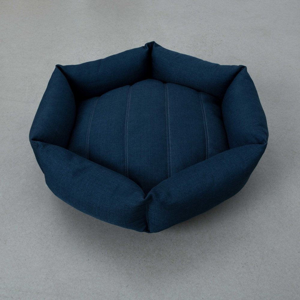 Hex Cushion in Harbor blue