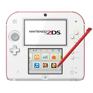 Nintendo 2DS wit + rood USED