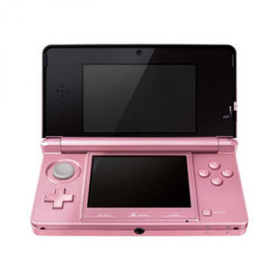 Nintendo 3DS coral pink boxed USED