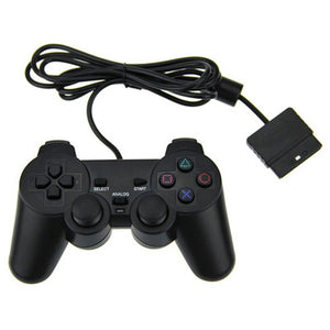 Controller zwart 3rd party voor Playstation 2