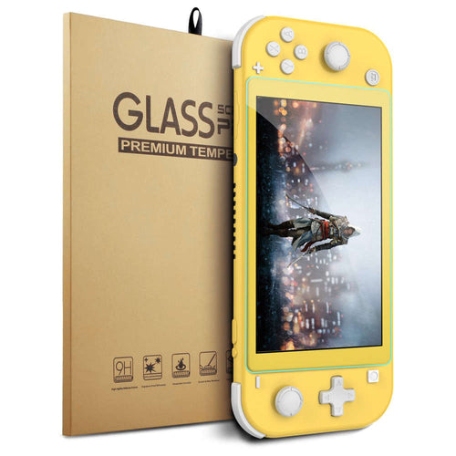 Tempered glass 9H screen protector voor Nintendo Switch Lite
