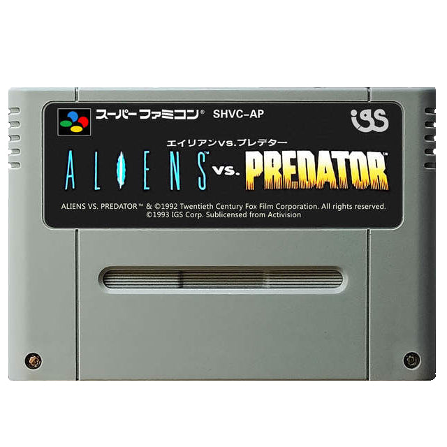 Alien vs Predator (Japan) (losse cassette)