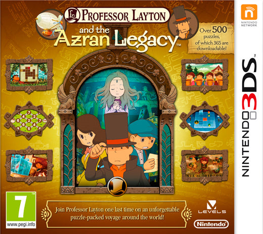Professor Layton and the Azran legacy (Engelstalig)