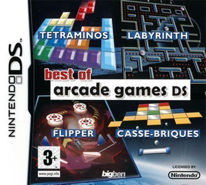 Best of arcade games DS