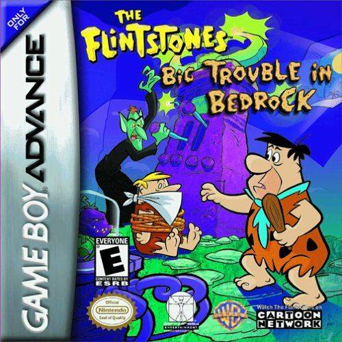 The Flinstones big trouble in Bedrock (losse cassette)