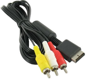 Composiet AV kabel voor Playstation 1, 2 en 3