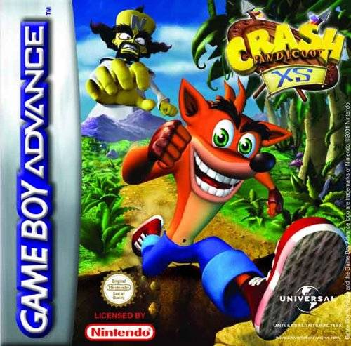 Crash Bandicoot XS  (losse cassette)