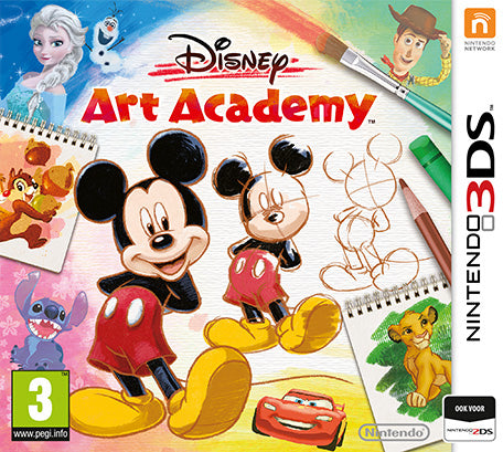 Disney art academy (losse cassette)