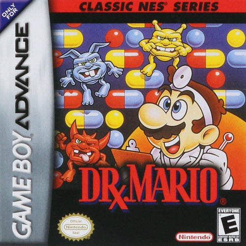 Dr. Mario classic NES series (import, nieuw in seal!)