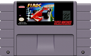 F1 ROC - race of champions (NTSC) (losse cassette)