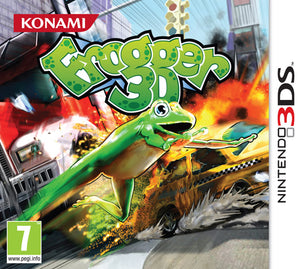 Frogger 3D USED