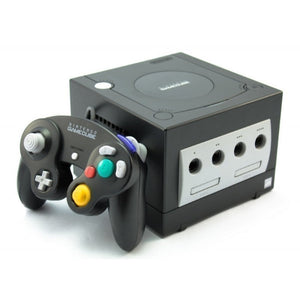 Nintendo Gamecube jet black + 3rd party controller