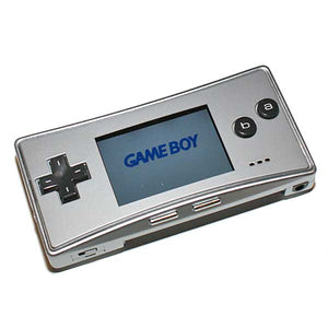 Game Boy Micro zilver
