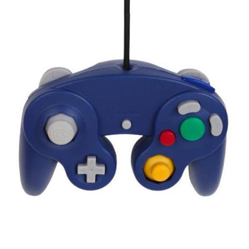 Gamecube controller 3rd party blauw