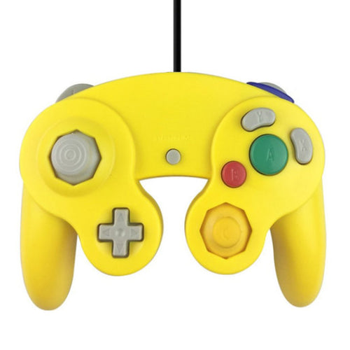 Gamecube controller 3rd party geel