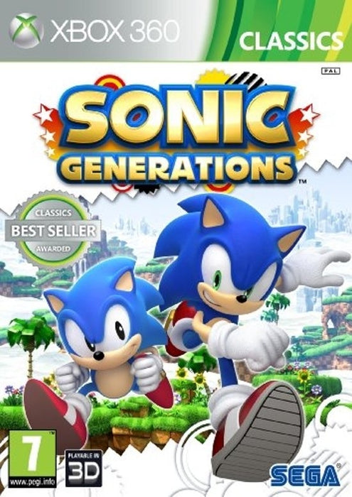 Sonic Generations (Xbox One compatible)