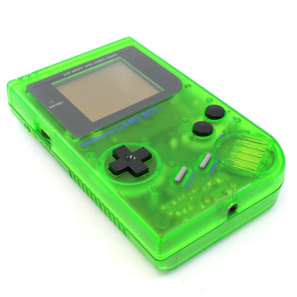 Gameboy Classic transparant green refurbished