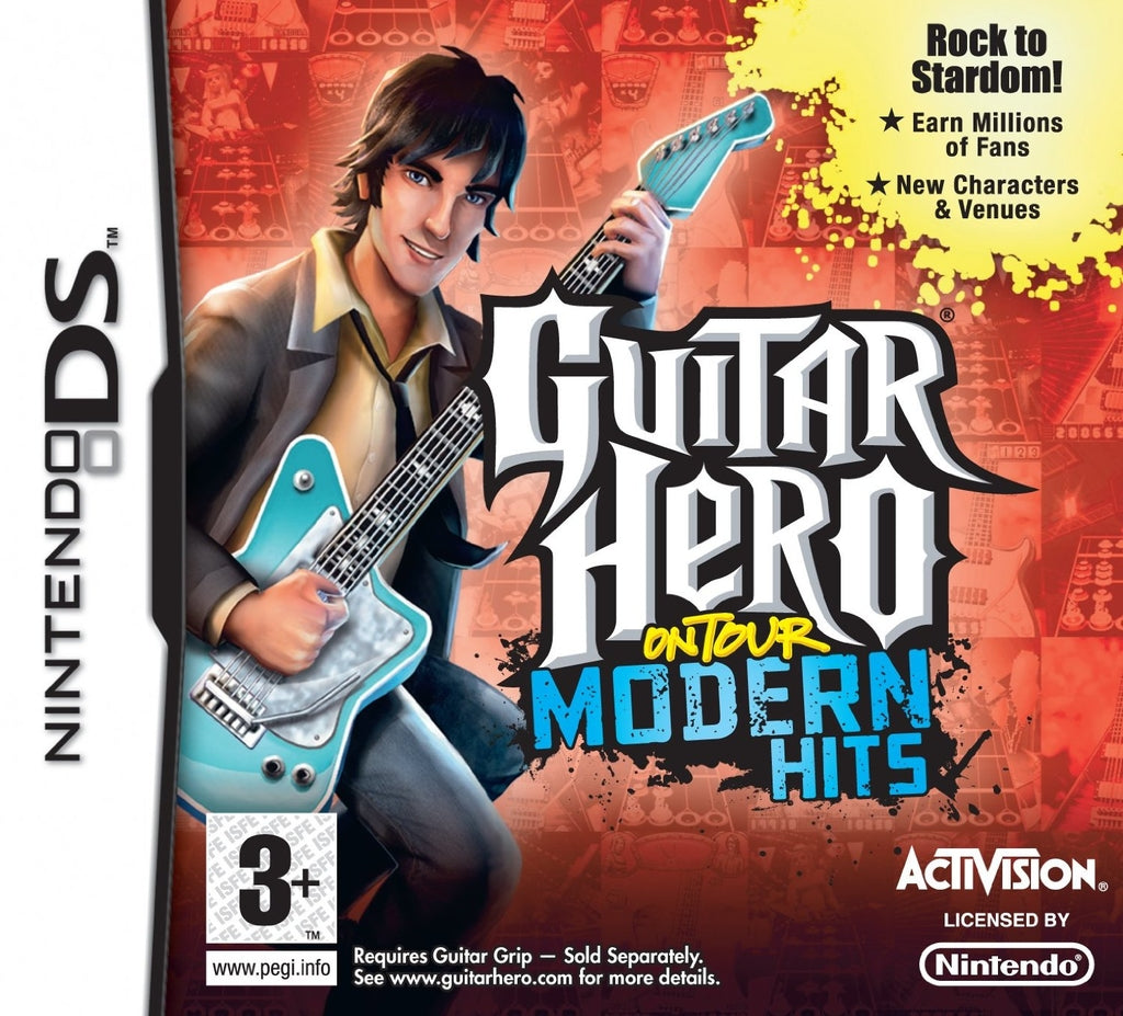 Guitar Hero on tour modern hits bundle