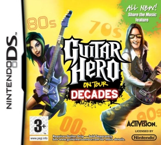 Guitar Hero on tour decades (game only)
