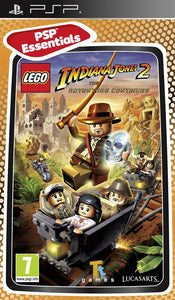 Lego Indiana Jones 2 the adventure continues