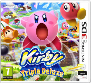 Kirby triple deluxe USED