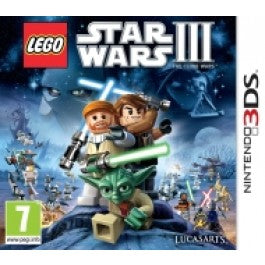 Lego Star Wars 3 the clone wars USED