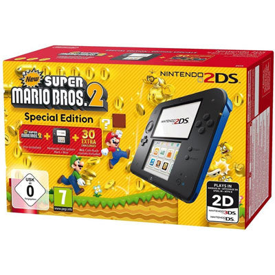 Nintendo 2DS Super Mario Bros 2 bundel