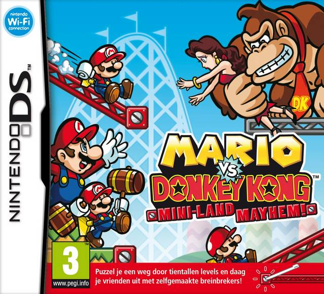 Mario vs Donkey Kong 3: Mini-land mayhem!