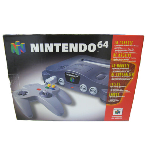 Nintendo 64 in doos