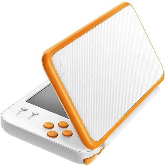 New Nintendo 2DS XL console - Wit/Oranje