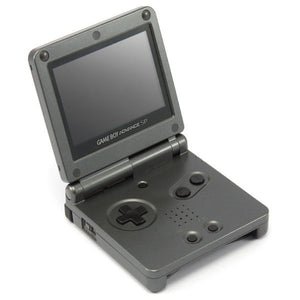 Gameboy Advance SP onyx black + screen mod refurbished