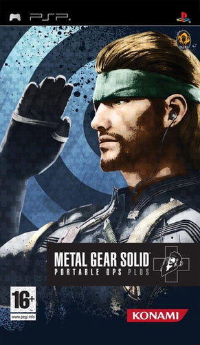 Metal Gear Solid: portable ops plus (import)