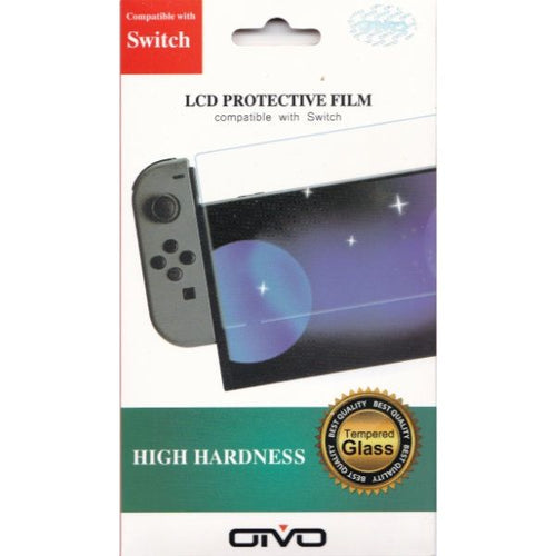 OTVO Tempered glass 9H screen protector voor Nintendo Switch