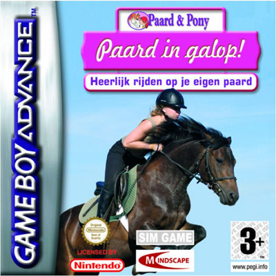 Paard in galop! (losse cassette)